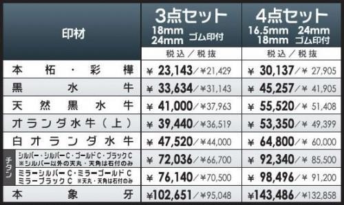 hojin-set-price